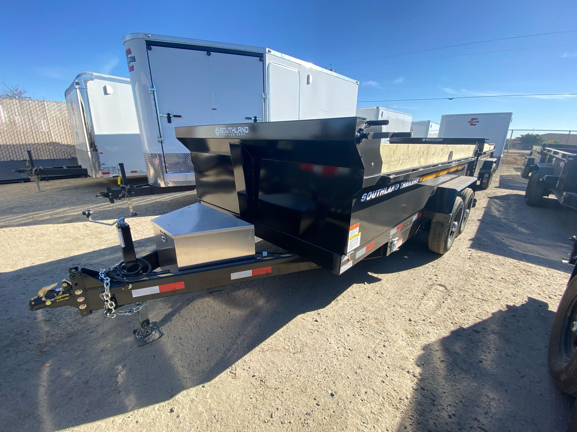 2021 SOUTHLAND TRAILER CORP SL714-16K DUMP in Elk Grove, California - Photo 13