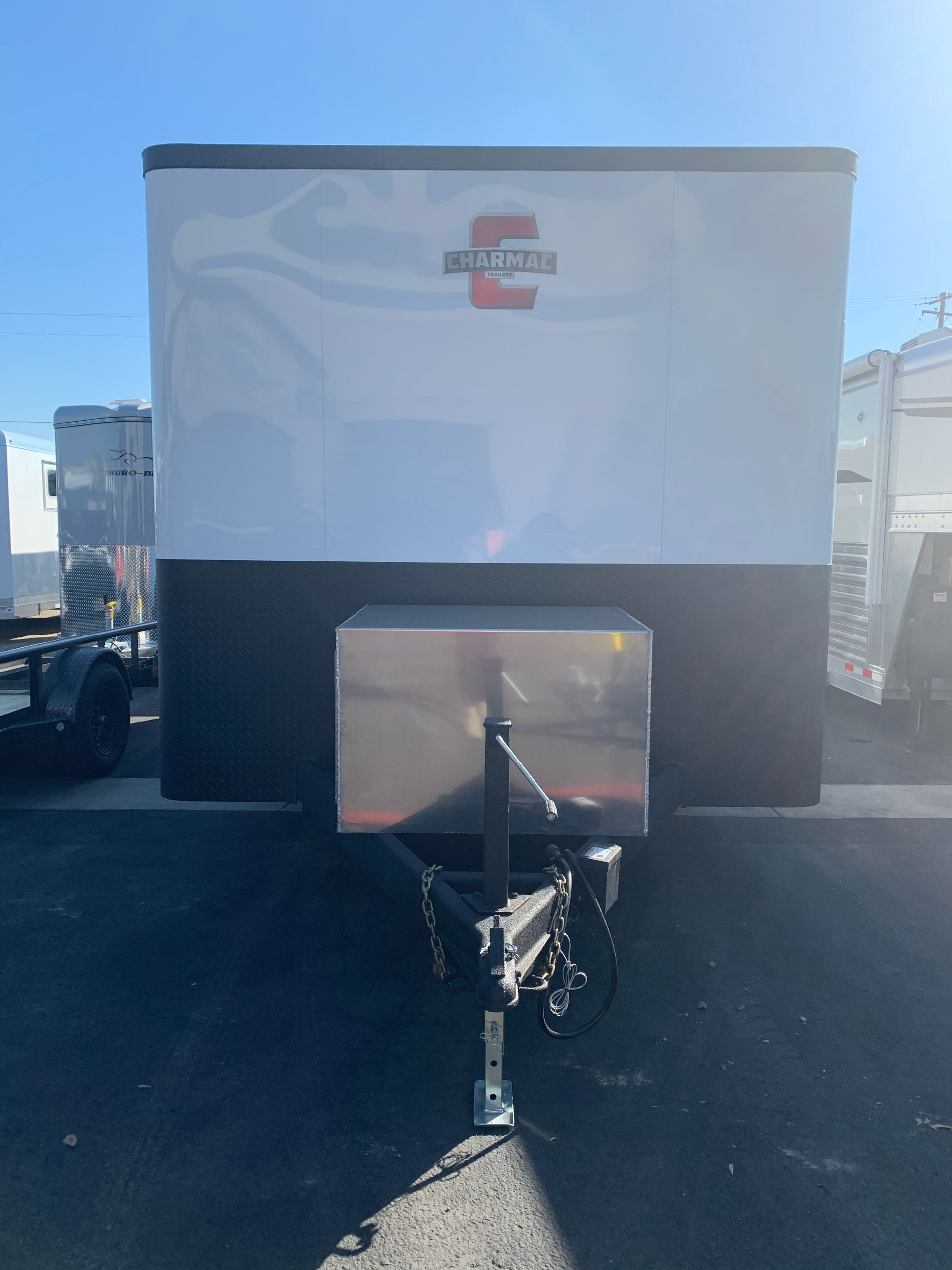 "2021 Charmac Trailers 100"" x 16' STEALTH CARGO 3500# in Elk Grove, California - Photo 2"
