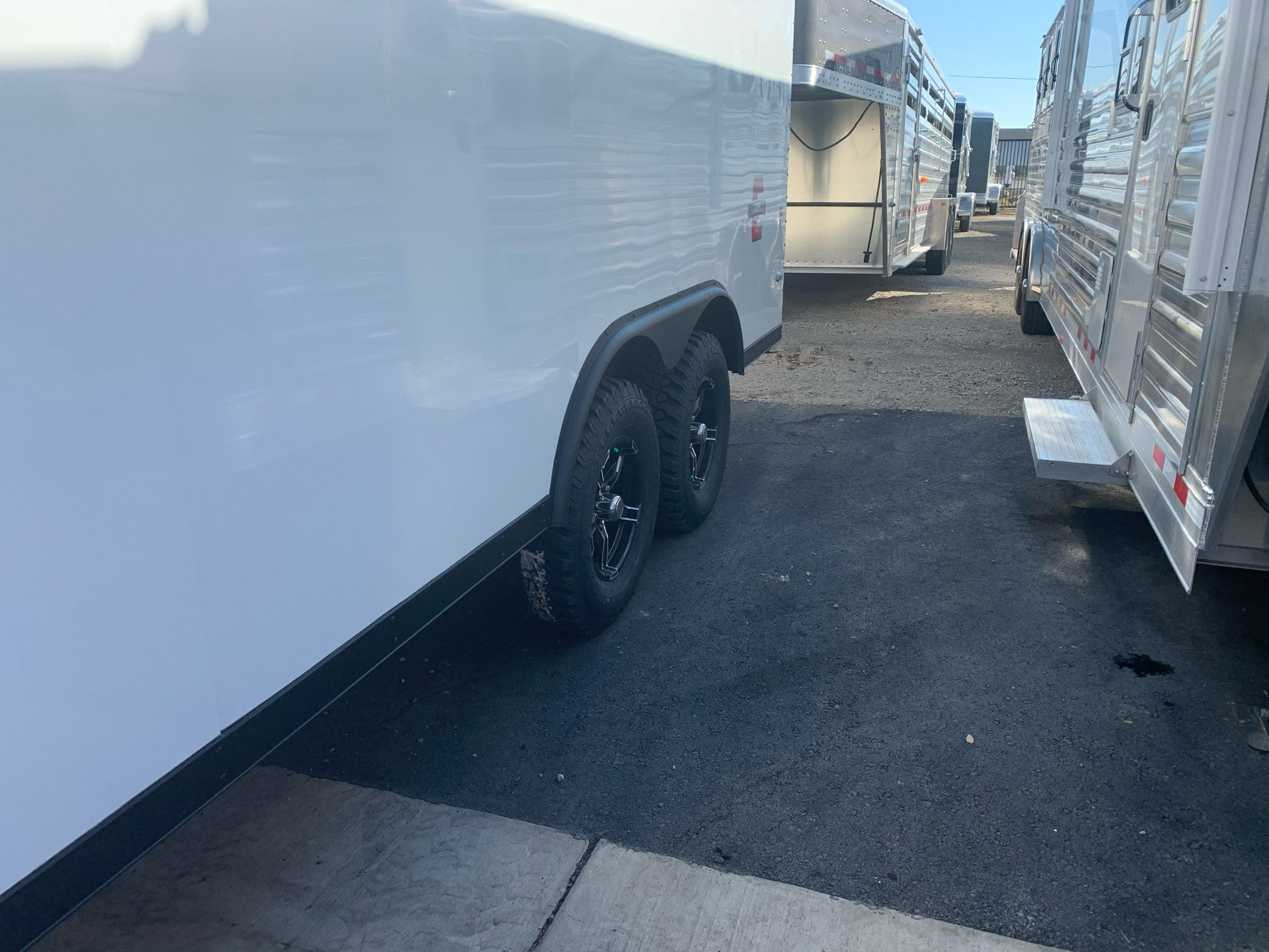 "2021 Charmac Trailers 100"" x 16' STEALTH CARGO 3500# in Elk Grove, California - Photo 3"