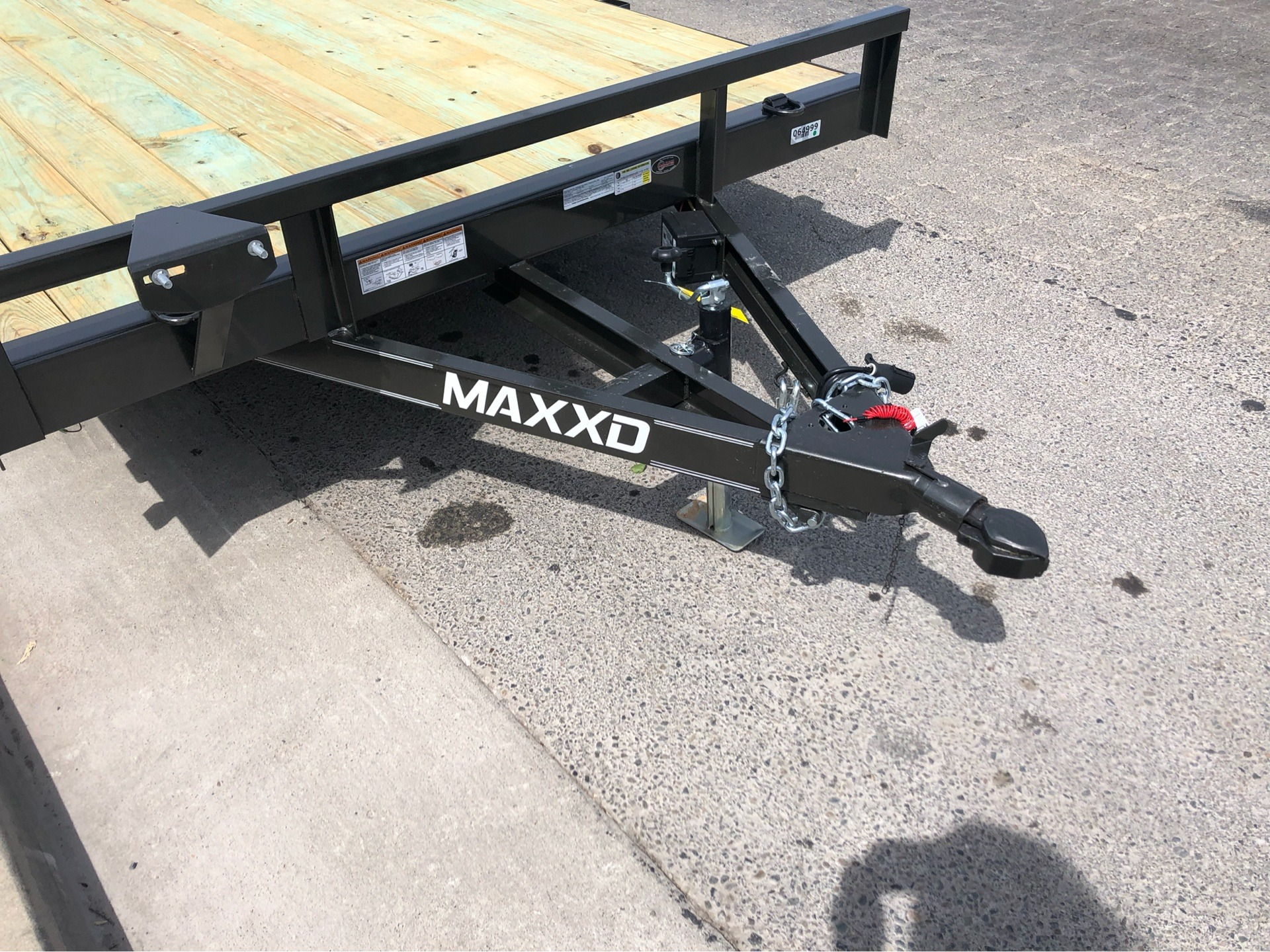 "2019 MAXXD TRAILERS 16' X 83"" ANGLE CAR HAULER  in Elk Grove, California - Photo 2"