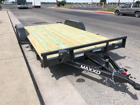 "2019 MAXXD TRAILERS 16' X 83"" ANGLE CAR HAULER  in Elk Grove, California - Photo 1"