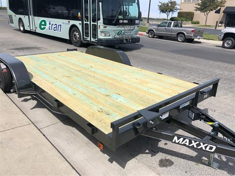 "2019 MAXXD TRAILERS 16' X 83"" ANGLE CAR HAULER  in Elk Grove, California - Photo 3"