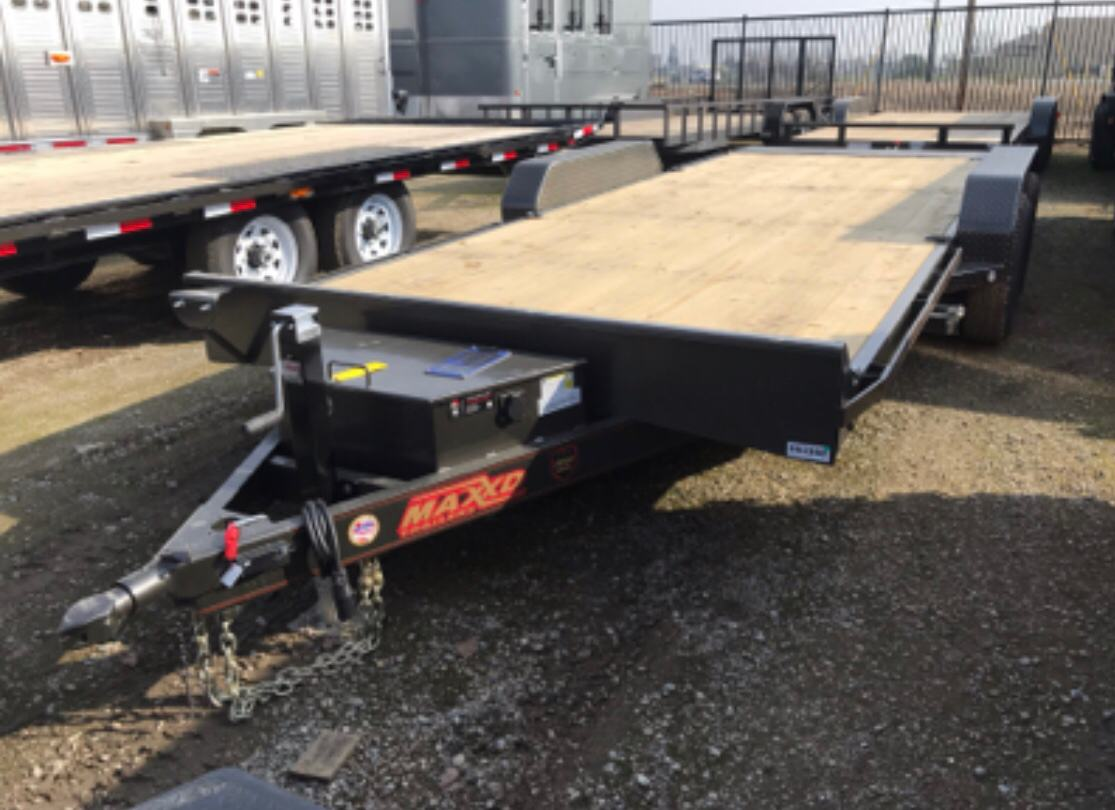 "2019 MAXXD TRAILERS 20' x 83"" 5"" CHANNEL POWER TILT in Elk Grove, California - Photo 1"