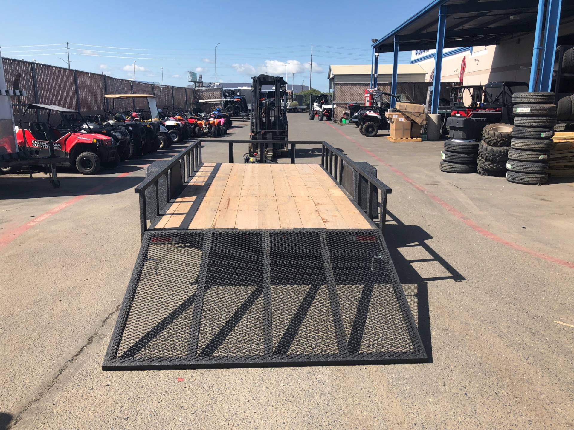2019 Charmac Trailers 14' X 7' STEEL UTILITY TRAILER in Elk Grove, California