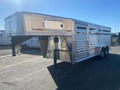 2021 Wilson Trailer - Manufacturers 20' RANCH HAND SLAT SIDE TRAILER in Elk Grove, California - Photo 1