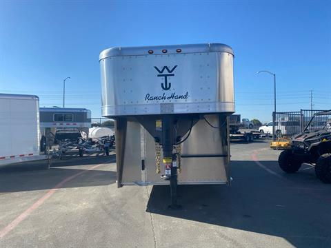 2021 Wilson Trailer - Manufacturers 20' RANCH HAND SLAT SIDE TRAILER in Elk Grove, California - Photo 2
