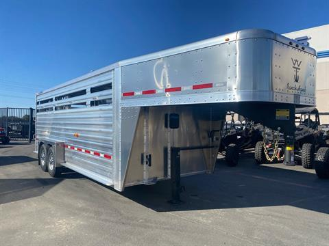 2021 Wilson Trailer - Manufacturers 20' RANCH HAND SLAT SIDE TRAILER in Elk Grove, California - Photo 3