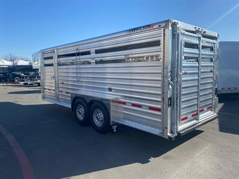 2021 Wilson Trailer - Manufacturers 20' RANCH HAND SLAT SIDE TRAILER in Elk Grove, California - Photo 10