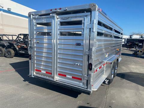 2021 Wilson Trailer - Manufacturers 20' RANCH HAND SLAT SIDE TRAILER in Elk Grove, California - Photo 12