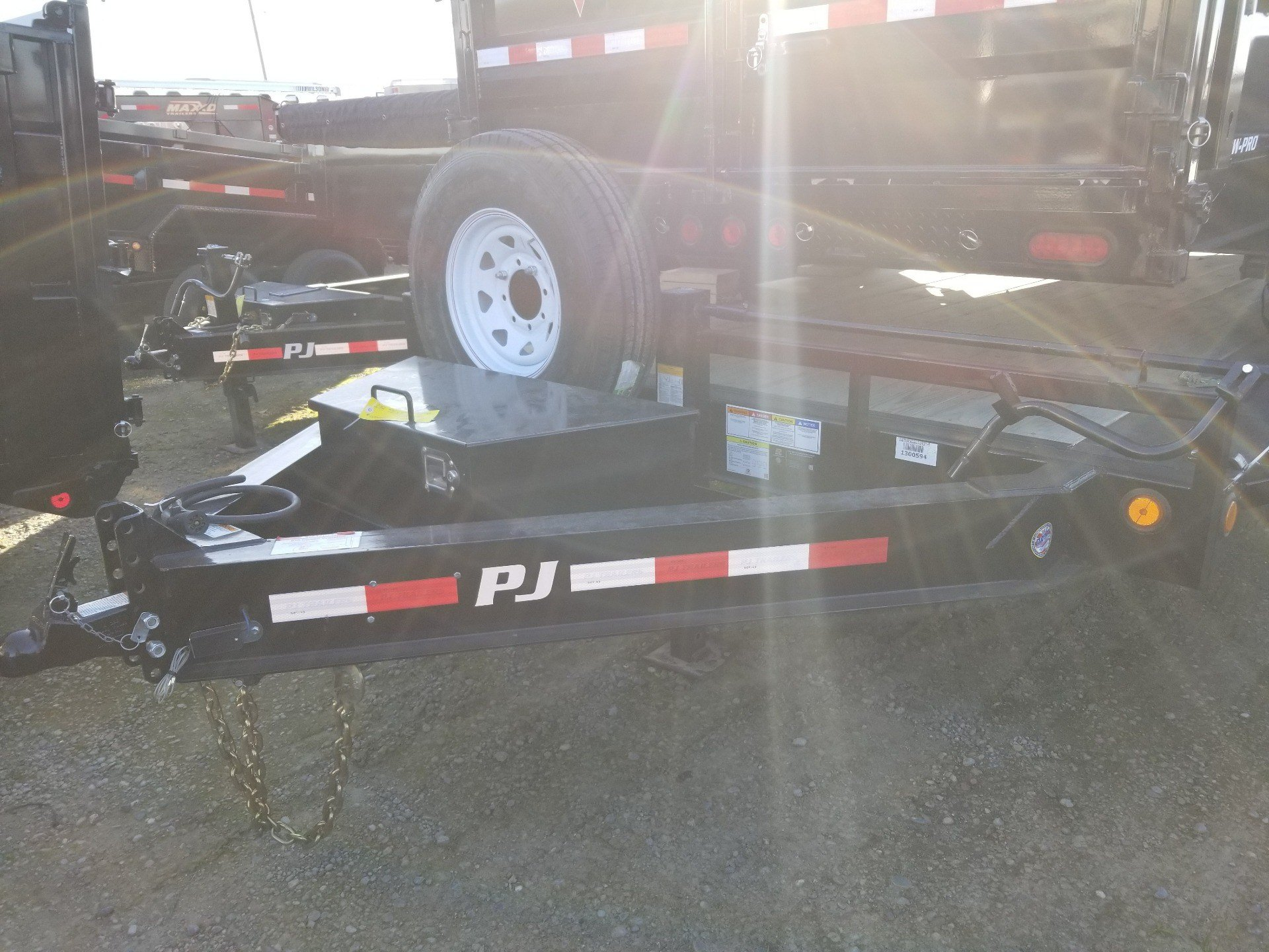 "2019 PJ Trailers 22' X 8"" PRO-BEAM SUPER-WIDE EQUIPMENT TRAILER in Elk Grove, California - Photo 1"