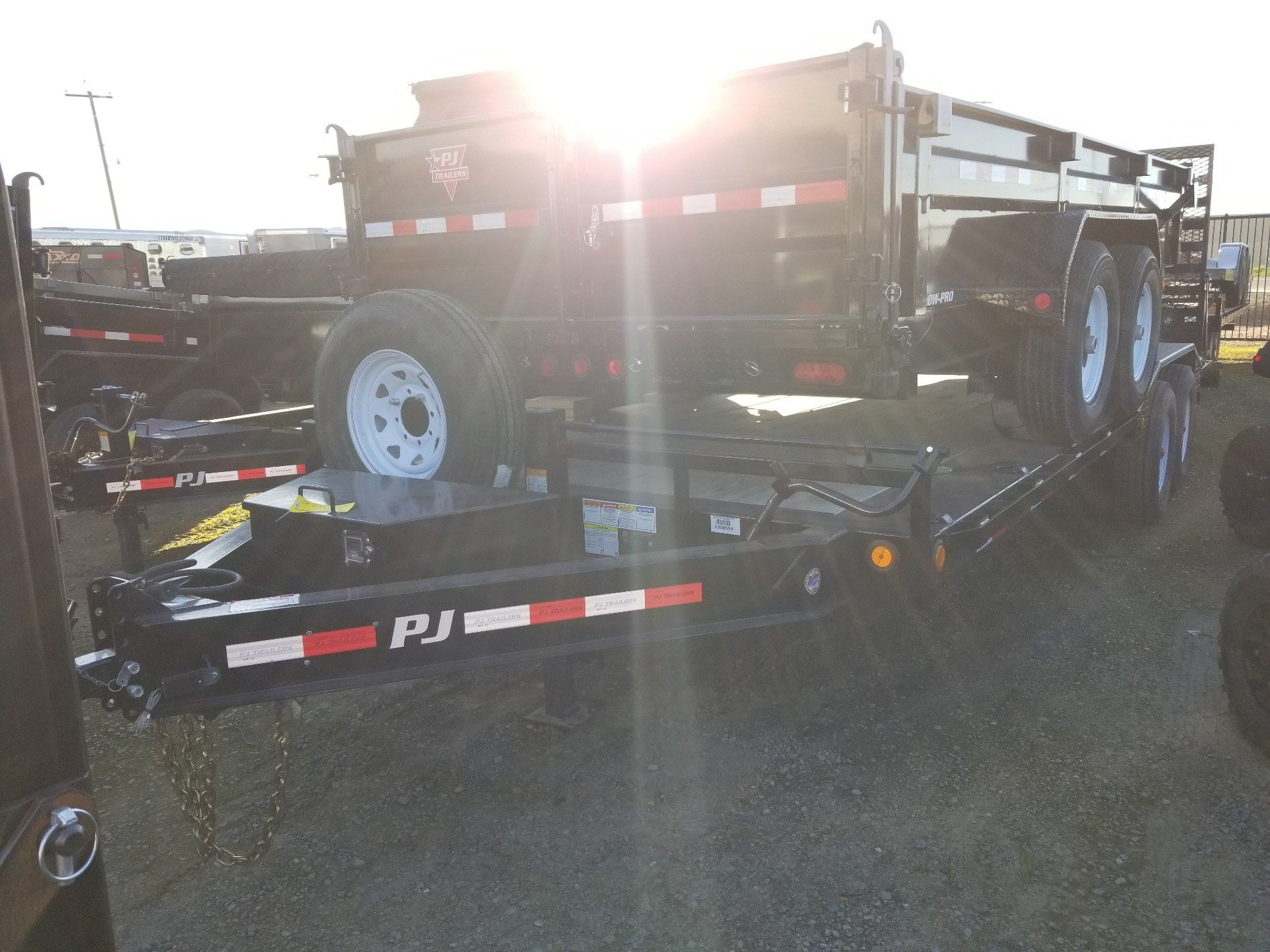 "2019 PJ Trailers 22' X 8"" PRO-BEAM SUPER-WIDE EQUIPMENT TRAILER in Elk Grove, California - Photo 2"
