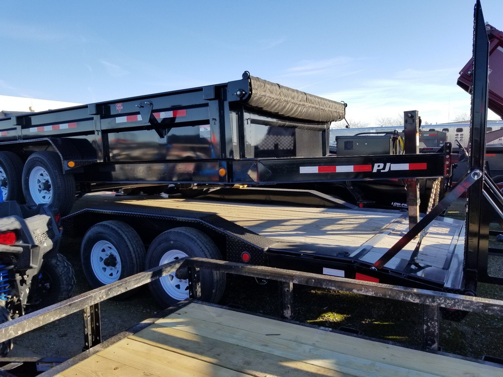 "2019 PJ Trailers 22' X 8"" PRO-BEAM SUPER-WIDE EQUIPMENT TRAILER in Elk Grove, California - Photo 5"