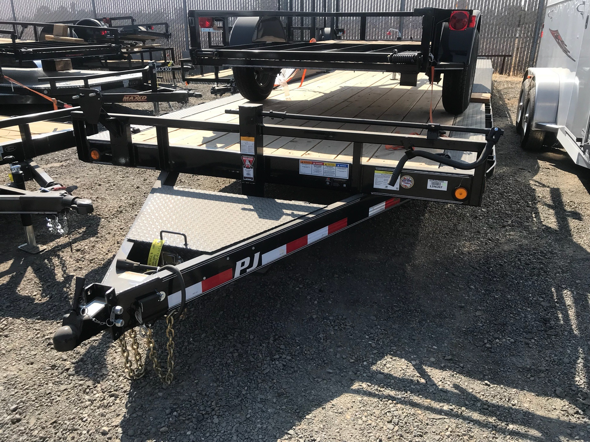 "2019  24' X 6"" CHANNEL SUPER-WIDE UTILITY TRAI 2"