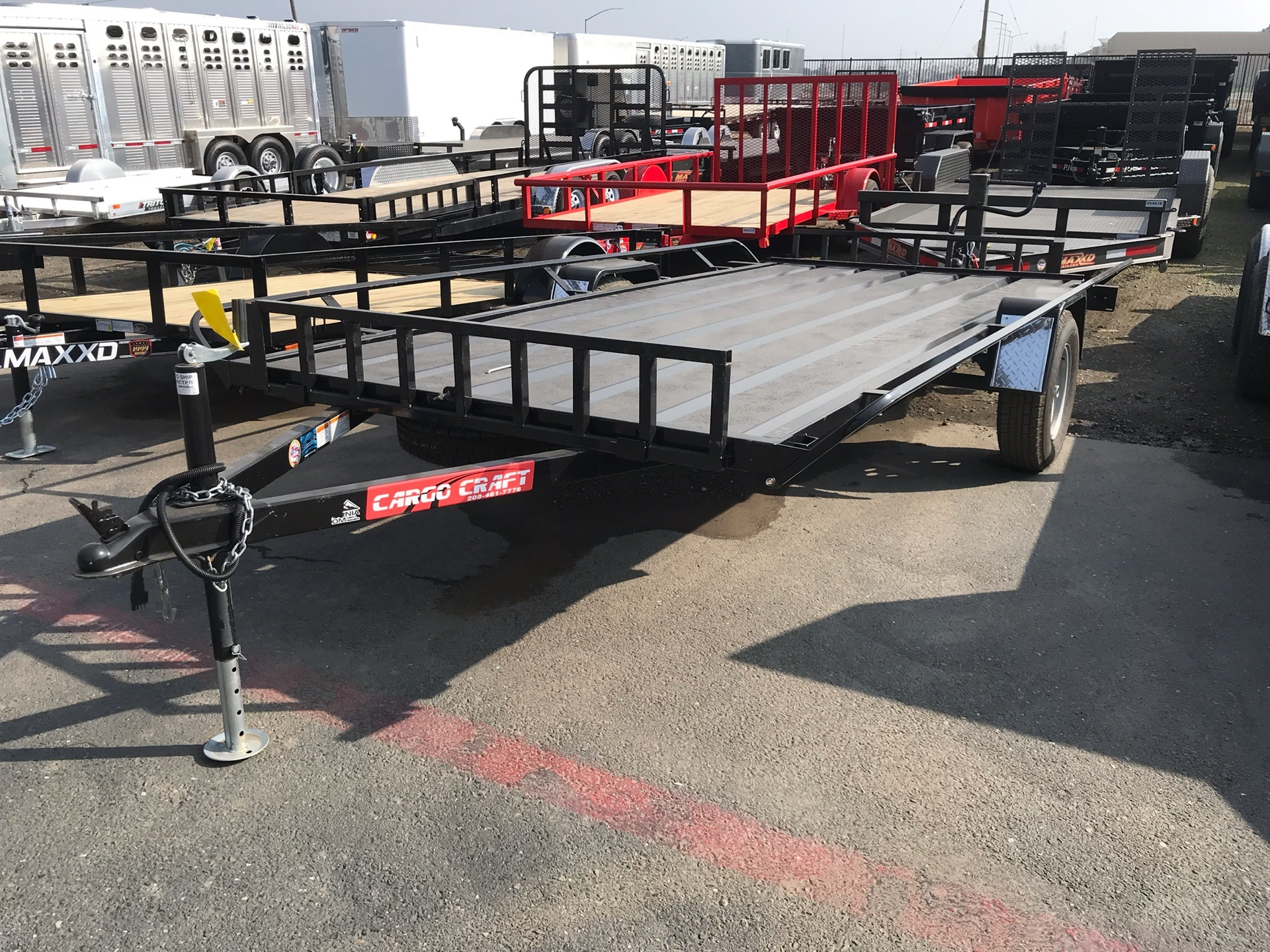 2017 TNT Trailer, LLC 6X13 CARGO TRAILER in Elk Grove, California