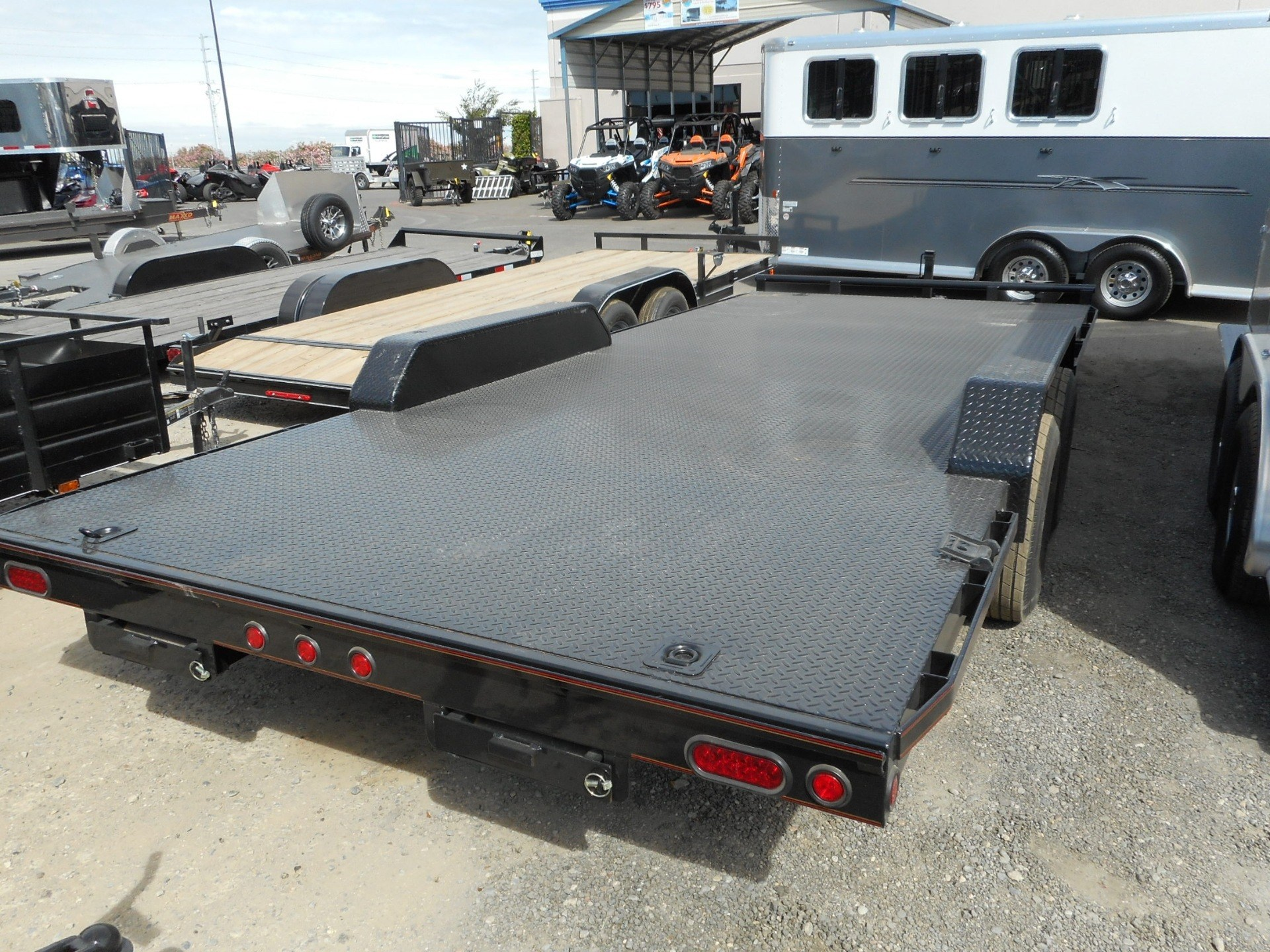 "2016 MAXXD TRAILERS 20'x102"" 5"" Channel Carhauler in Elk Grove, California"