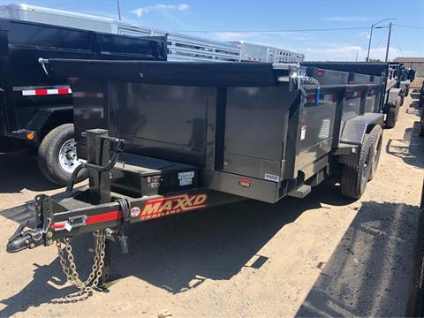 "2020 MAXXD TRAILERS 12' X 83"" CLASSIC DUMP in Elk Grove, California"