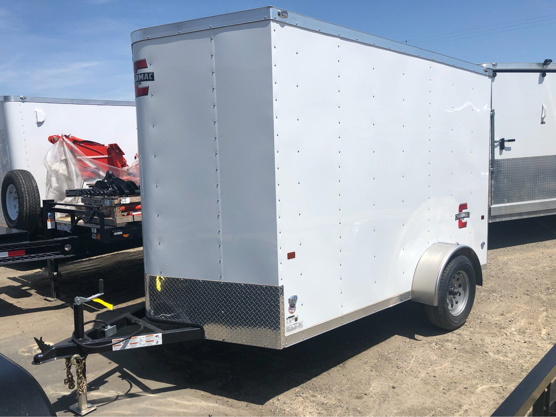 2019 Charmac Trailers 10' x 6' STEALTH CARGO in Elk Grove, California - Photo 1