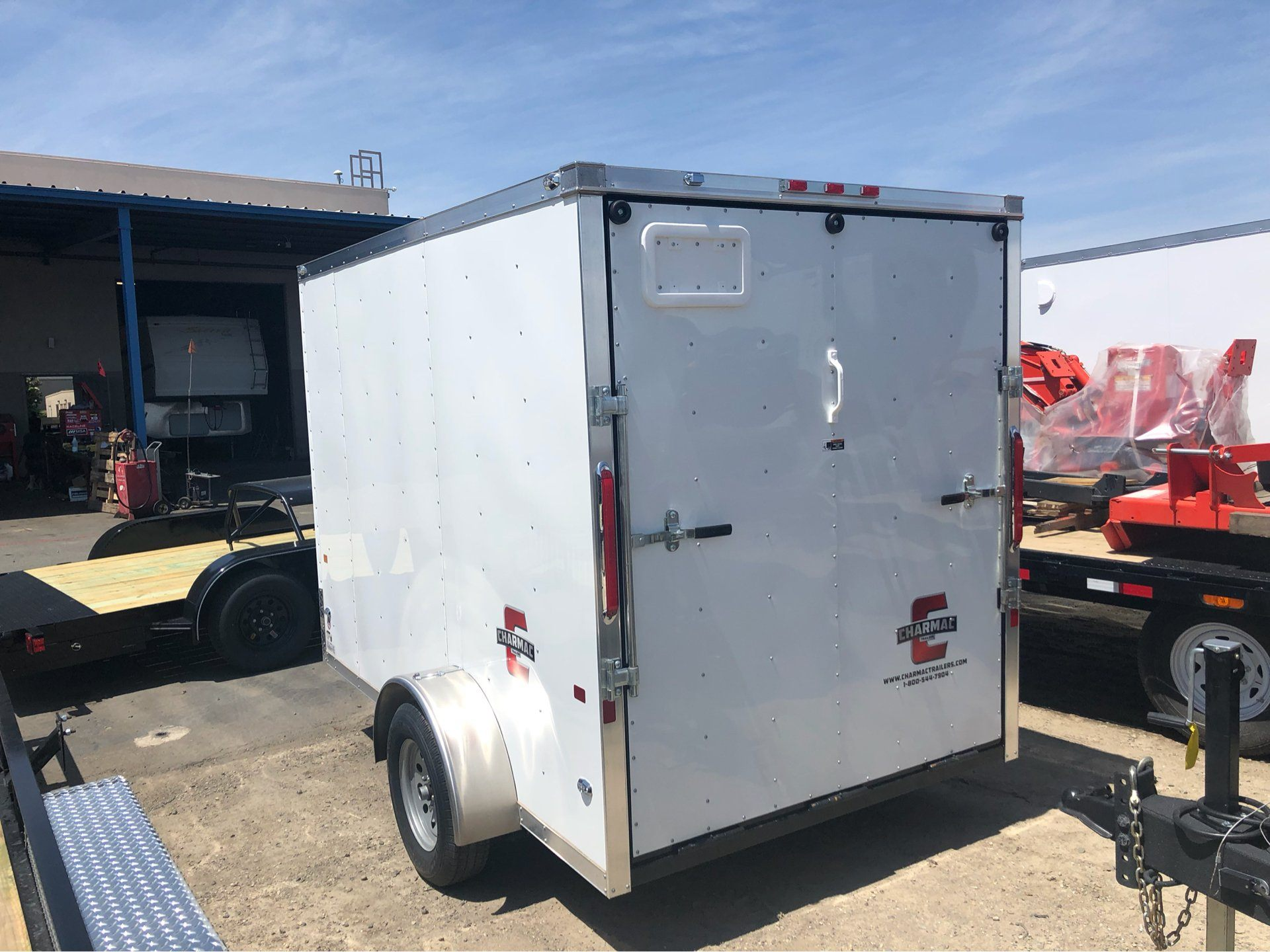 2019 Charmac Trailers 10' x 6' STEALTH CARGO in Elk Grove, California - Photo 5