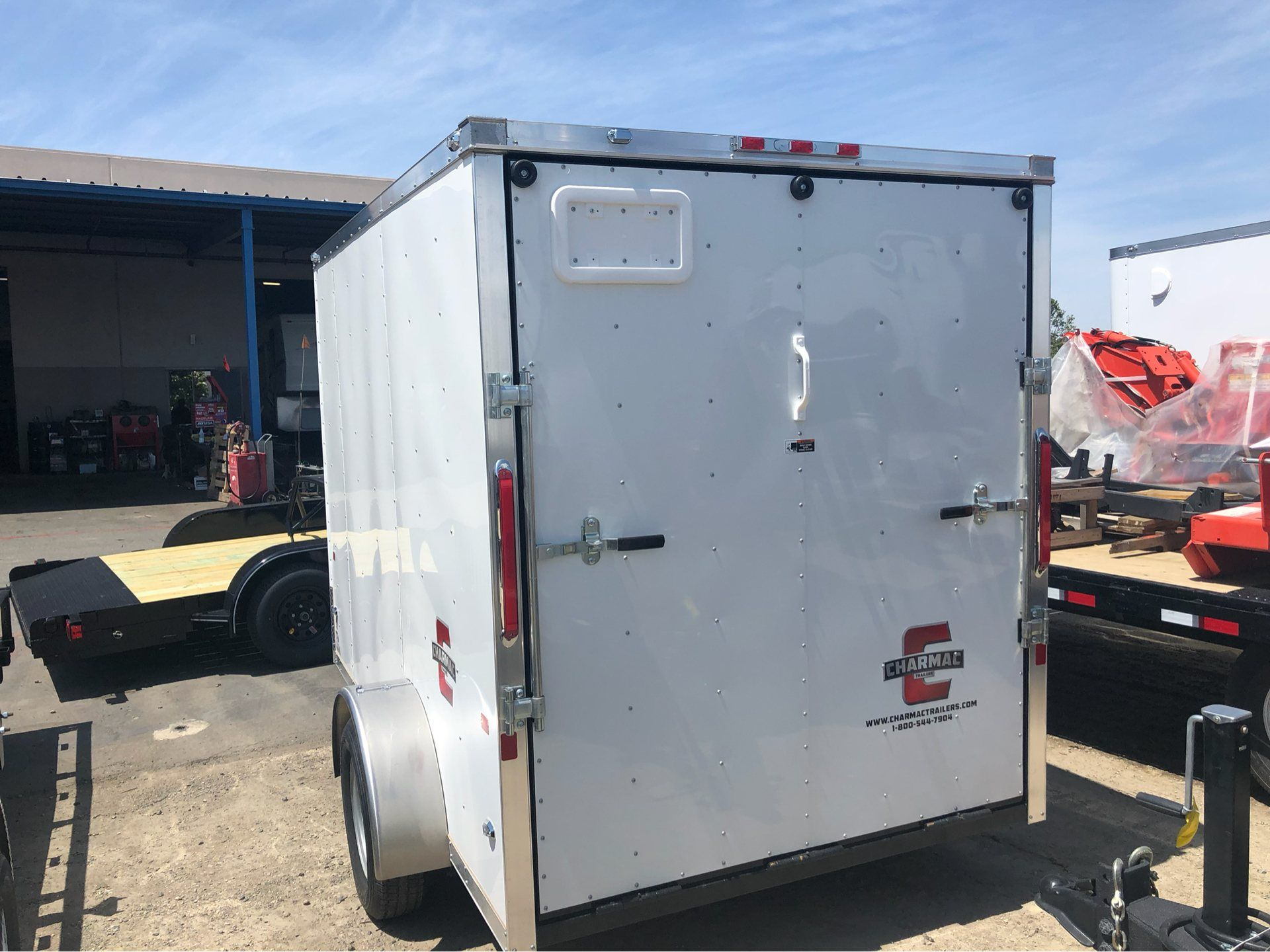 2019 Charmac Trailers 10' x 6' STEALTH CARGO in Elk Grove, California - Photo 6
