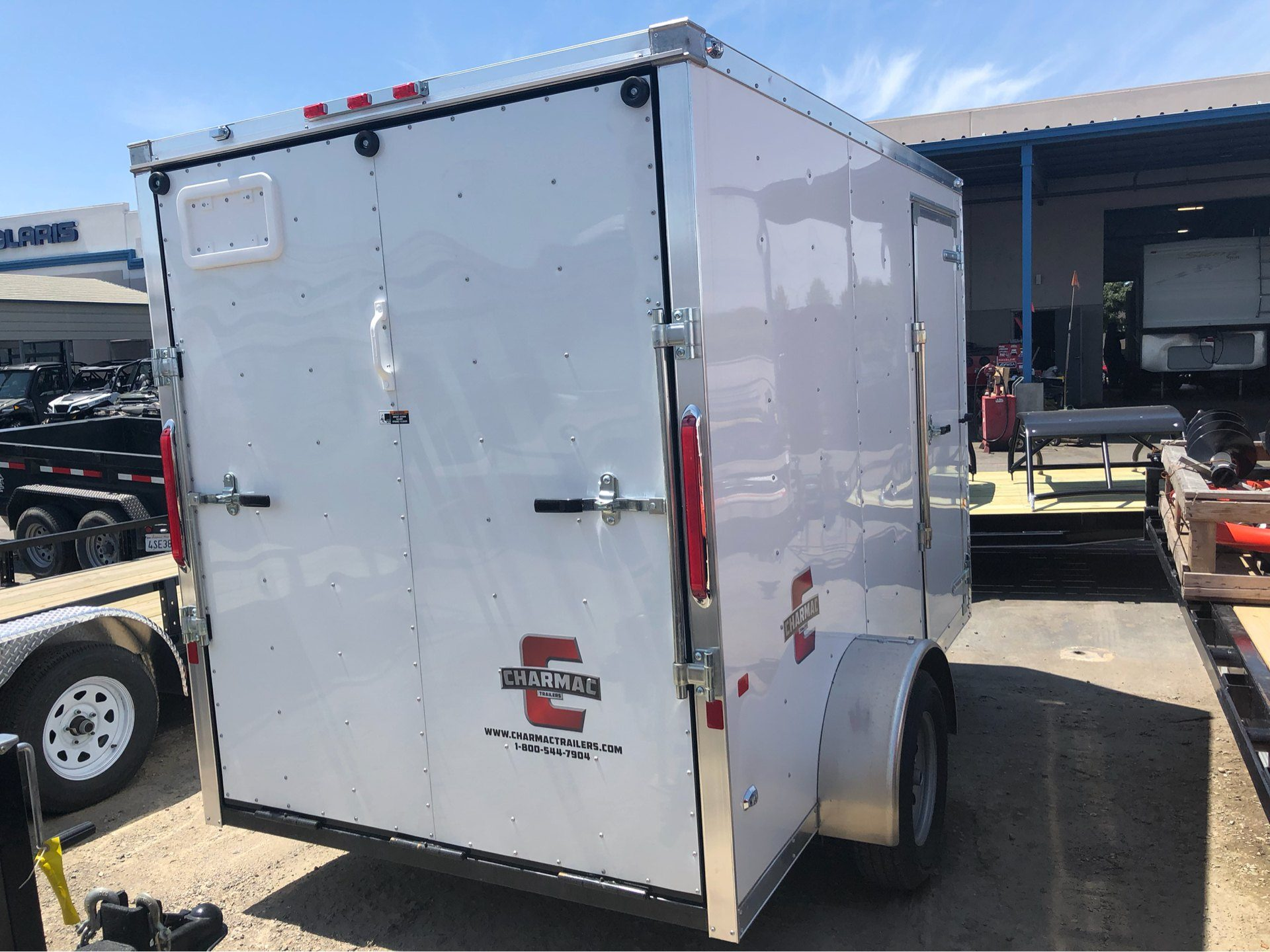 2019 Charmac Trailers 10' x 6' STEALTH CARGO in Elk Grove, California - Photo 8