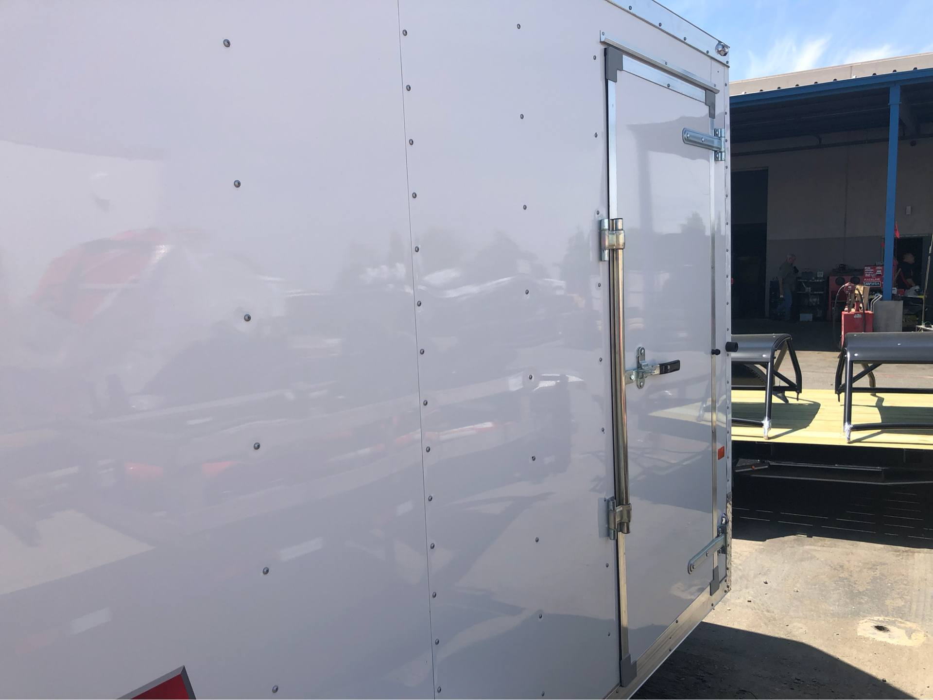 2019 Charmac Trailers 10' x 6' STEALTH CARGO in Elk Grove, California - Photo 9