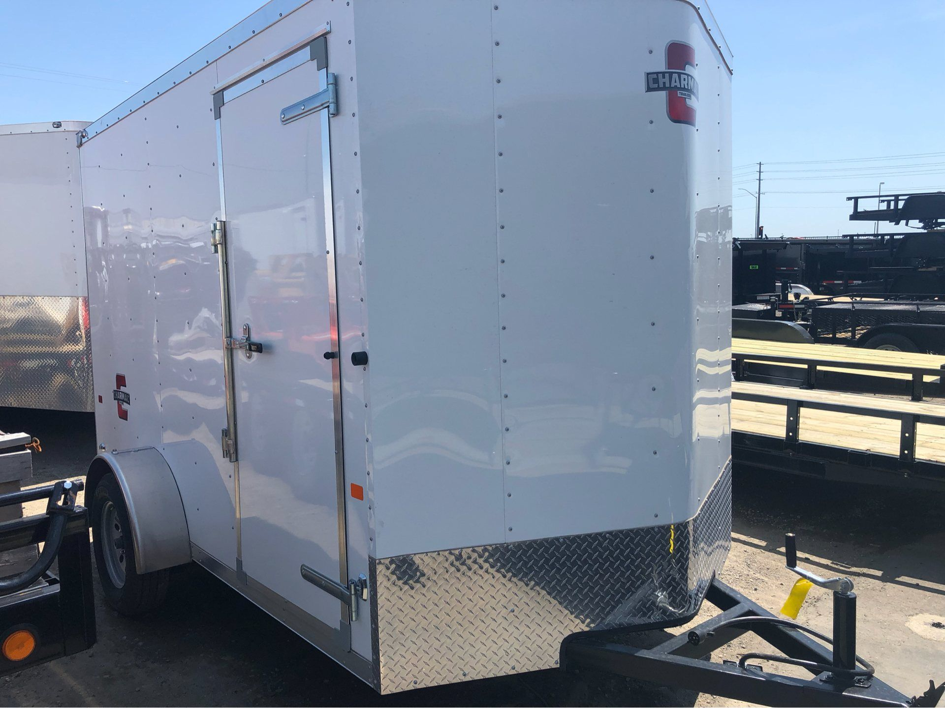 2019 Charmac Trailers 10' x 6' STEALTH CARGO in Elk Grove, California - Photo 10
