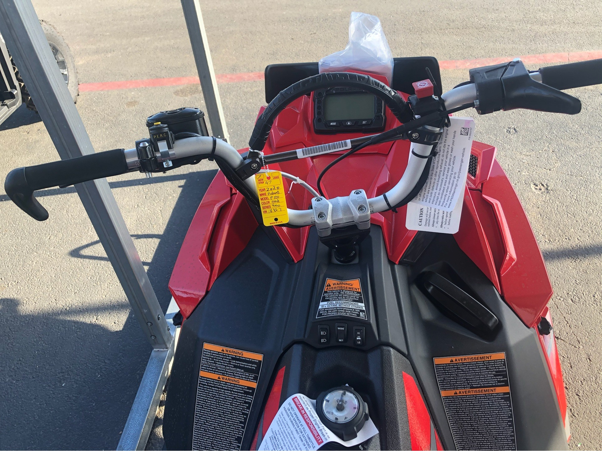 2020 Polaris 800 PRO RMK 163 SC 3 in. in Elk Grove, California - Photo 7