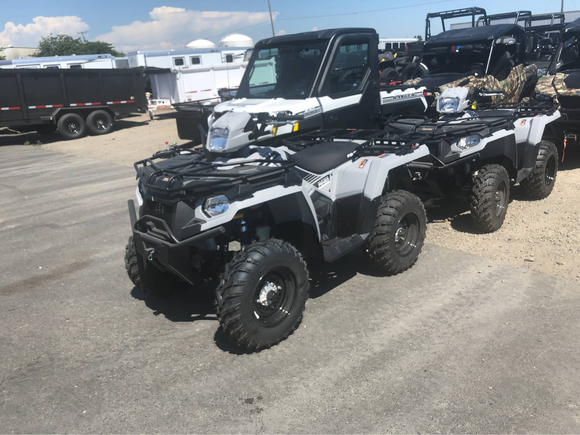 2019 Polaris Sportsman 450 H.O. Utility Edition (Red Sticker) in Elk Grove, California - Photo 1
