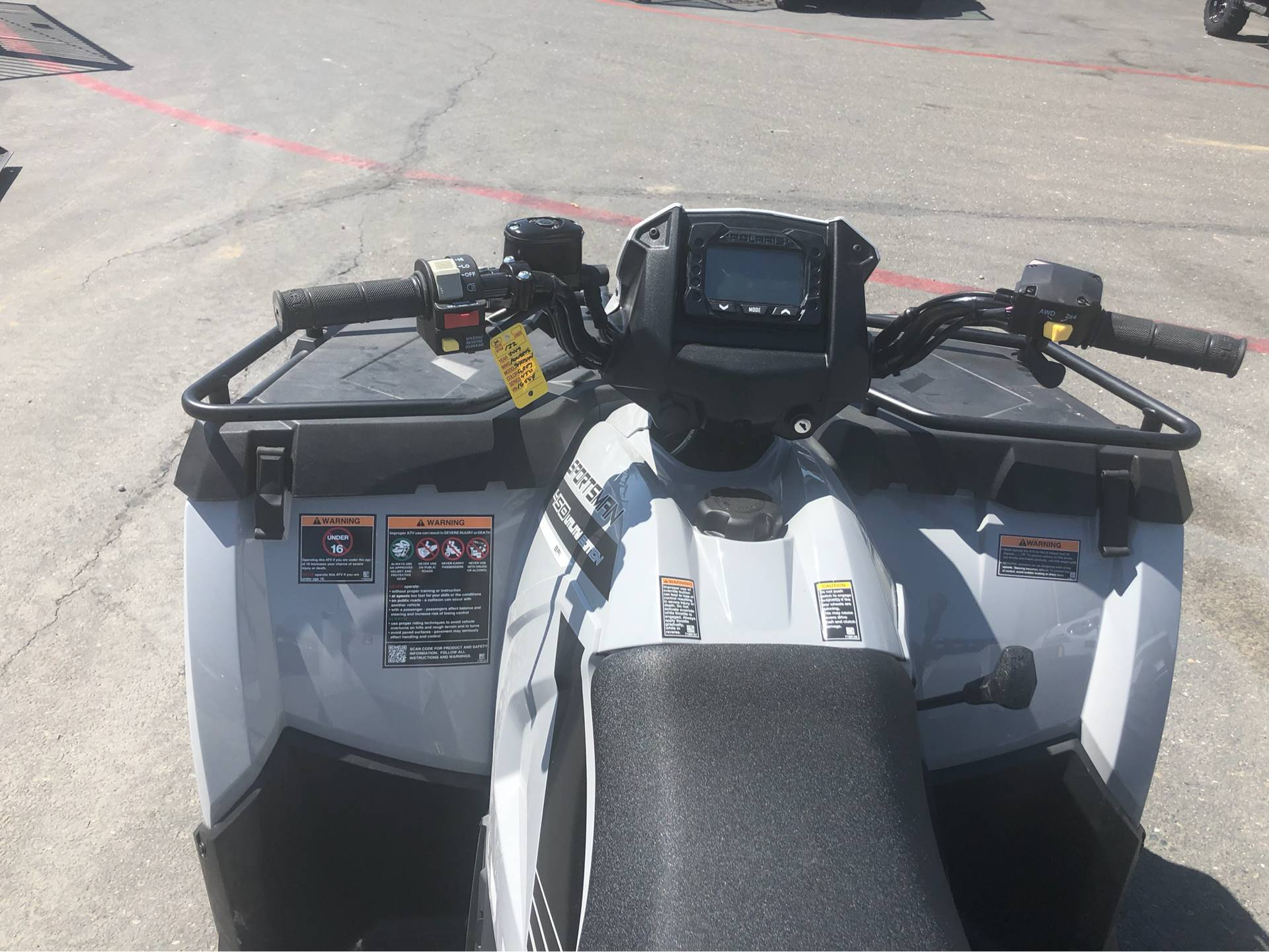 2019 Polaris Sportsman 450 H.O. Utility Edition (Red Sticker) in Elk Grove, California - Photo 5