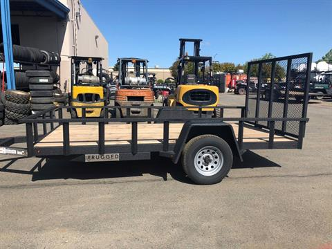 2018 Charmac Trailers 14' X 7' RUGGED UTILITY TRAILER in Elk Grove, California - Photo 2