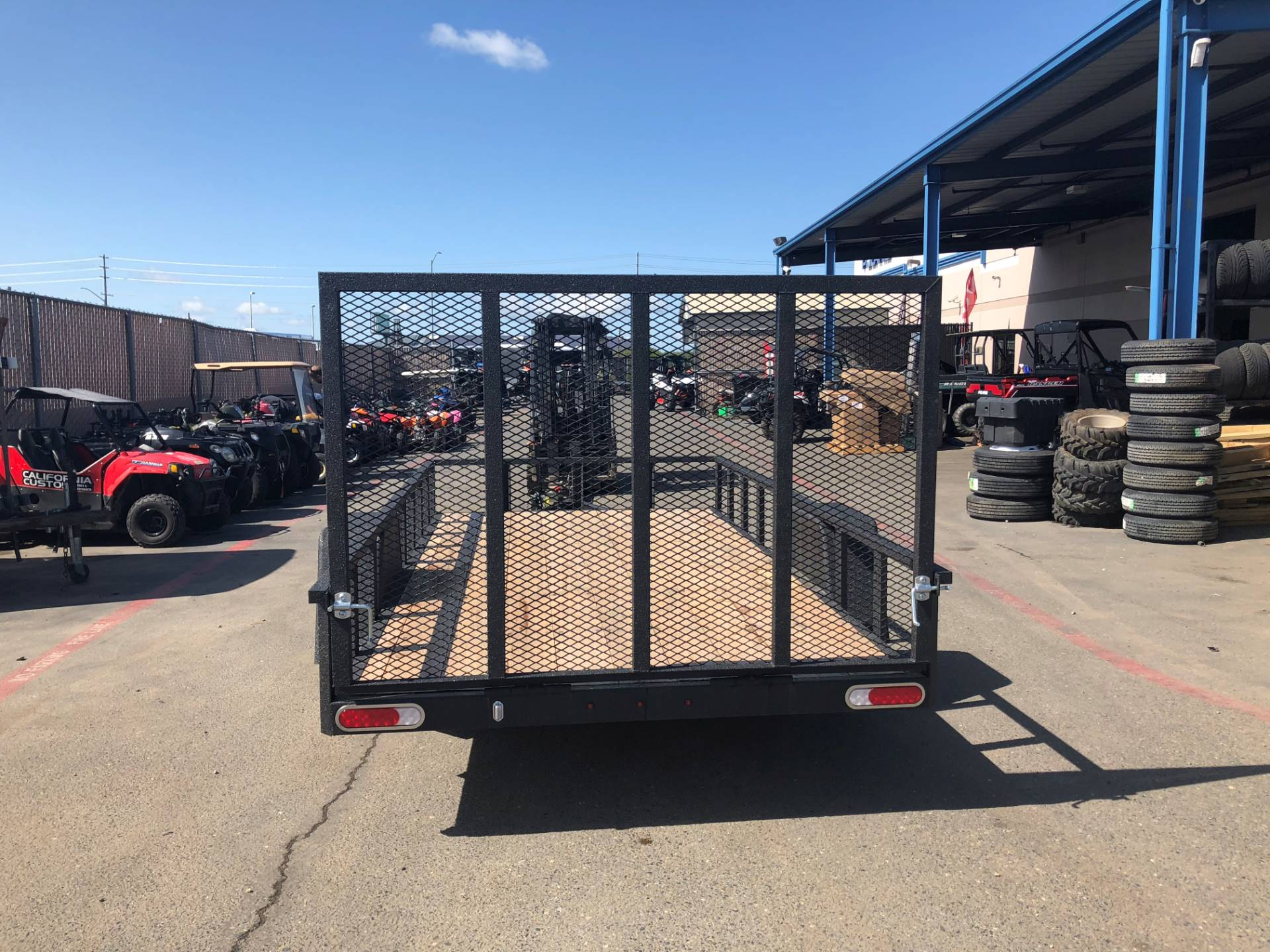 2018 Charmac Trailers 14' X 7' RUGGED UTILITY TRAILER in Elk Grove, California