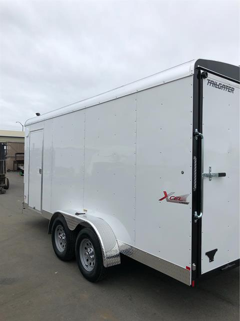 2019 TNT Trailer, LLC 16' x 7' TANDEM AXLE CARGO TRAILER in Elk Grove, California