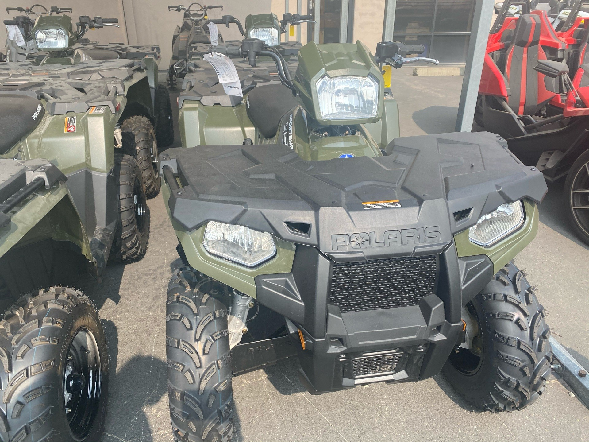 2020 Polaris Sportsman 450 H.O. in Elk Grove, California - Photo 2