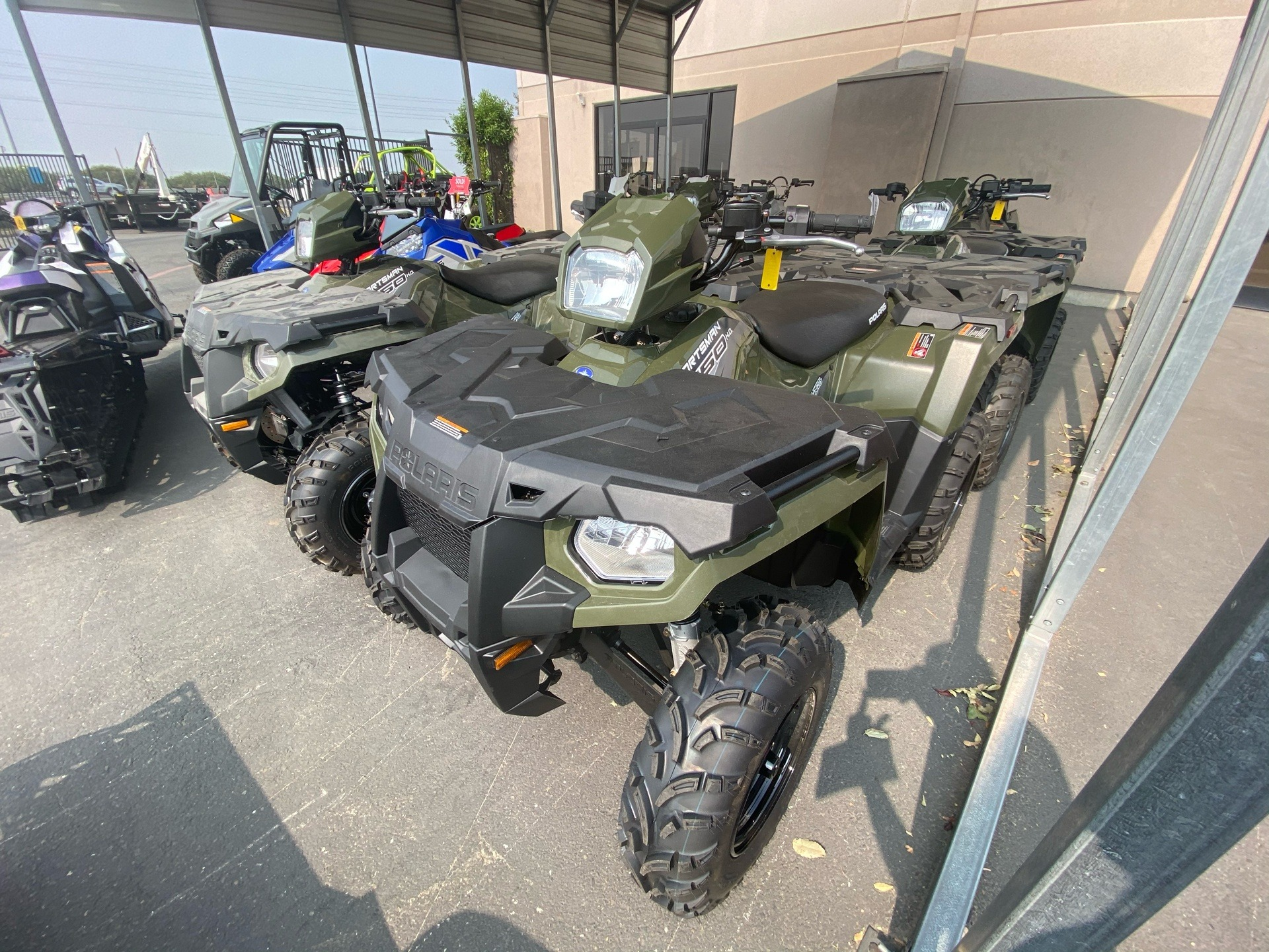 2020 Polaris Sportsman 450 H.O. in Elk Grove, California - Photo 3