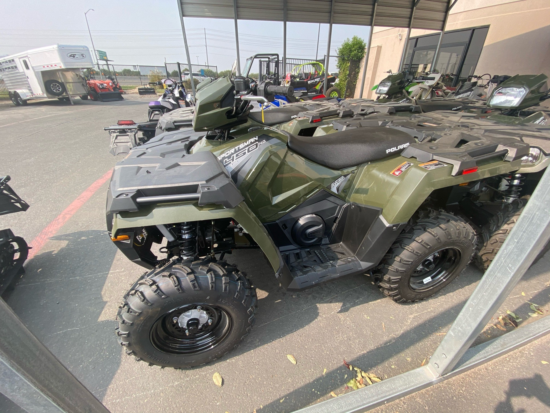 2020 Polaris Sportsman 450 H.O. in Elk Grove, California - Photo 4