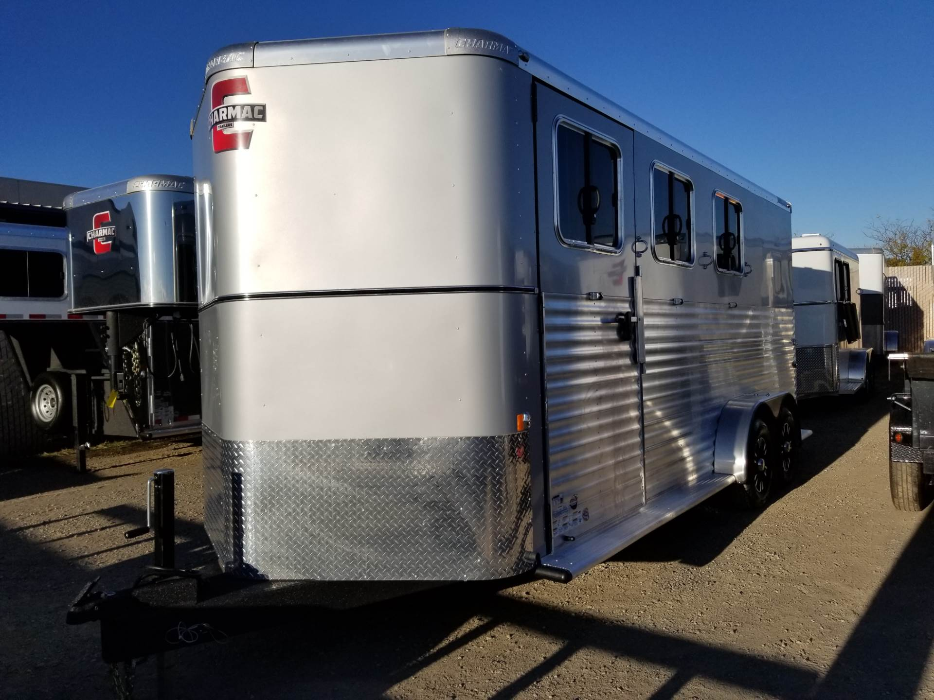 2018 Charmac Trailers 20' X 7' OUTLAW 3H BP in Elk Grove, California