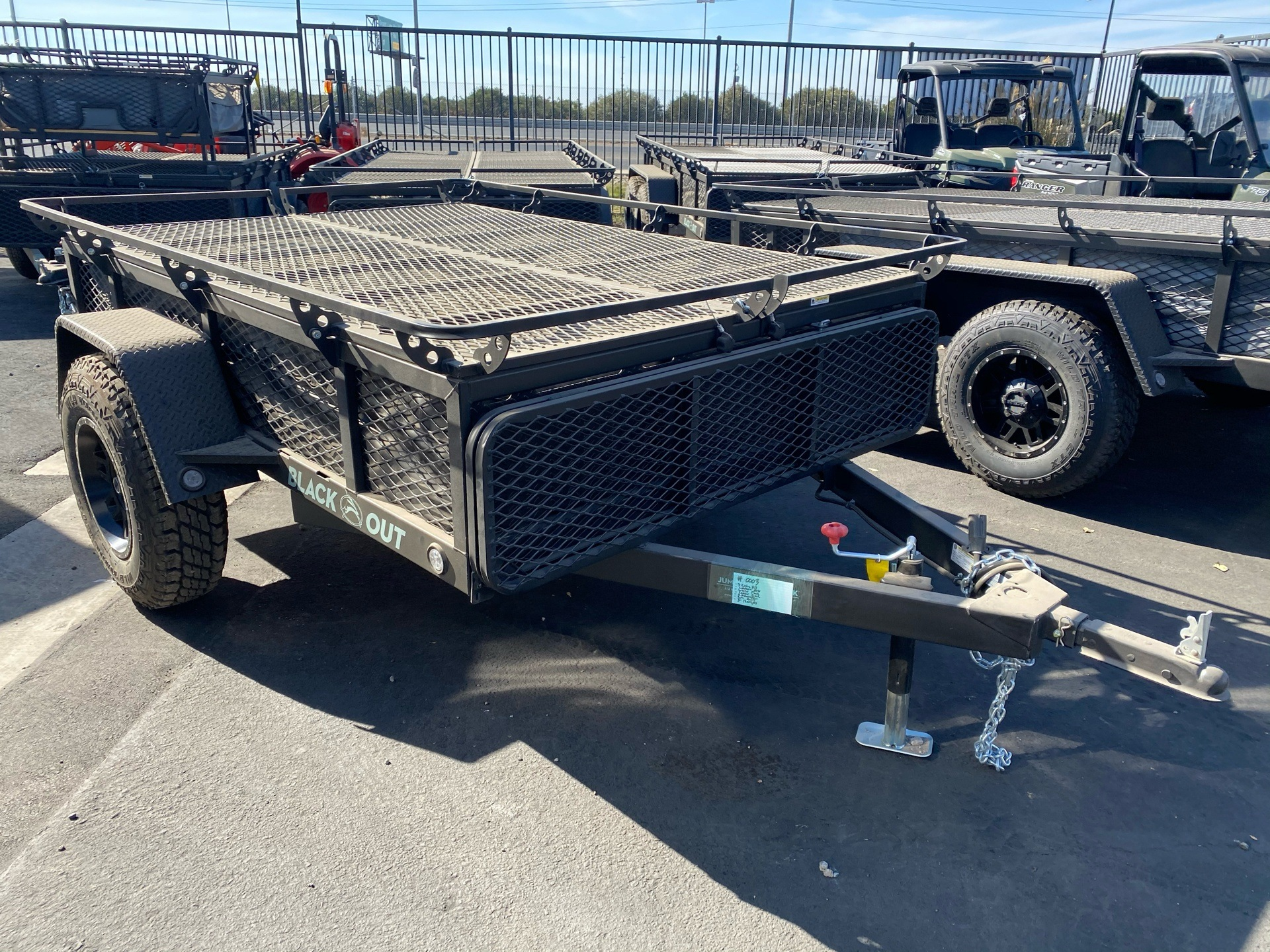 2021 Jumping Jack 6' X 8' BLACKOUT TRAILER W/ 8' TENT in Elk Grove, California - Photo 6