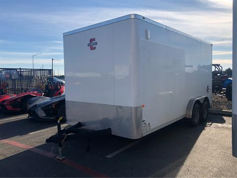 2020 Charmac Trailers 16' X 7.6' STEALTH CARGO TRAILER in Elk Grove, California