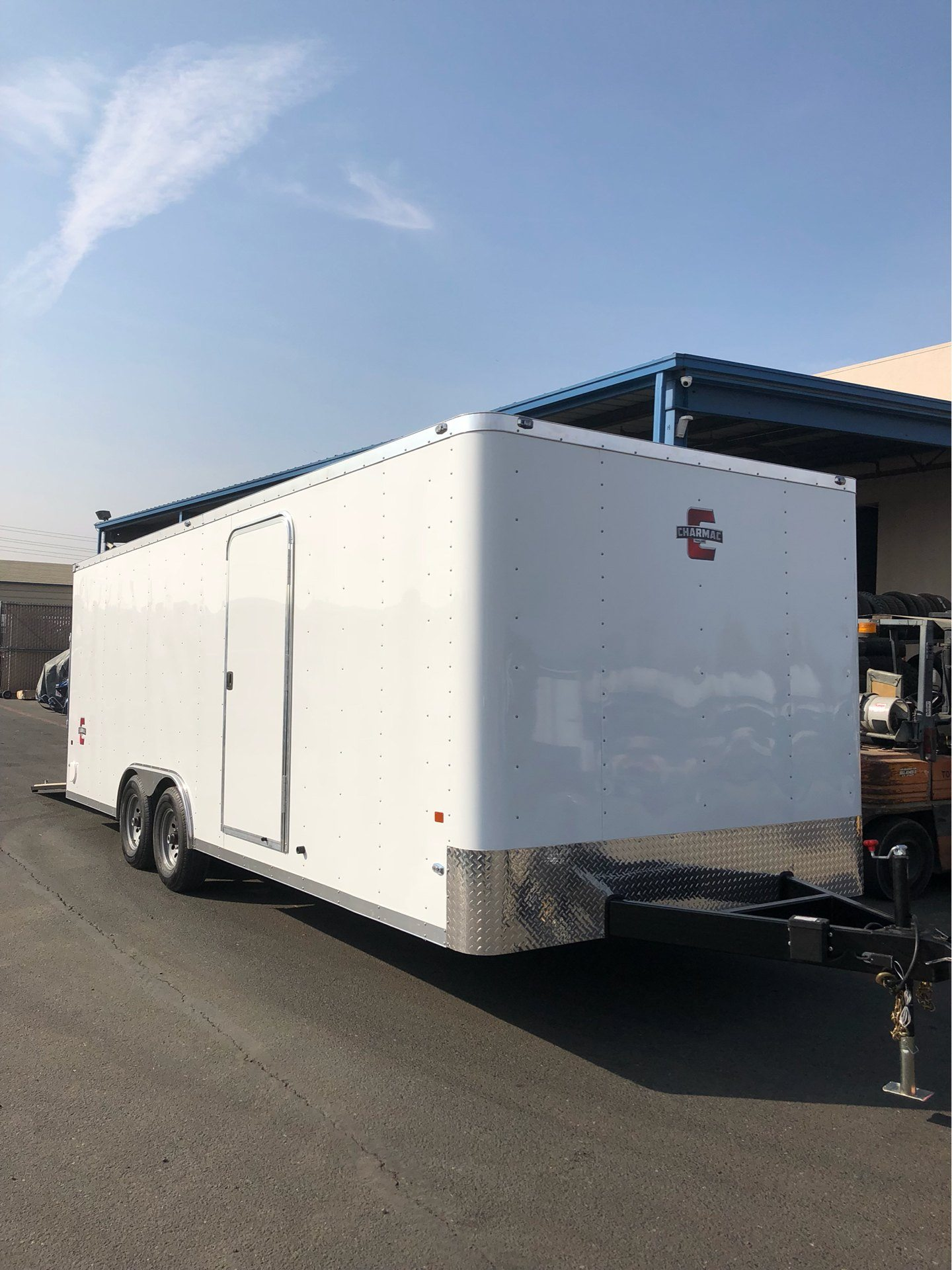 2019 Charmac Trailers 22' STEALTH CAR HAULER in Elk Grove, California