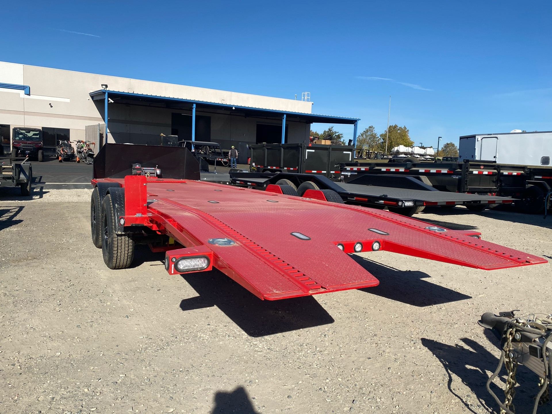 "2021 MAXXD TRAILERS 24' X 80"" DROP-N-LOAD in Elk Grove, California - Photo 16"