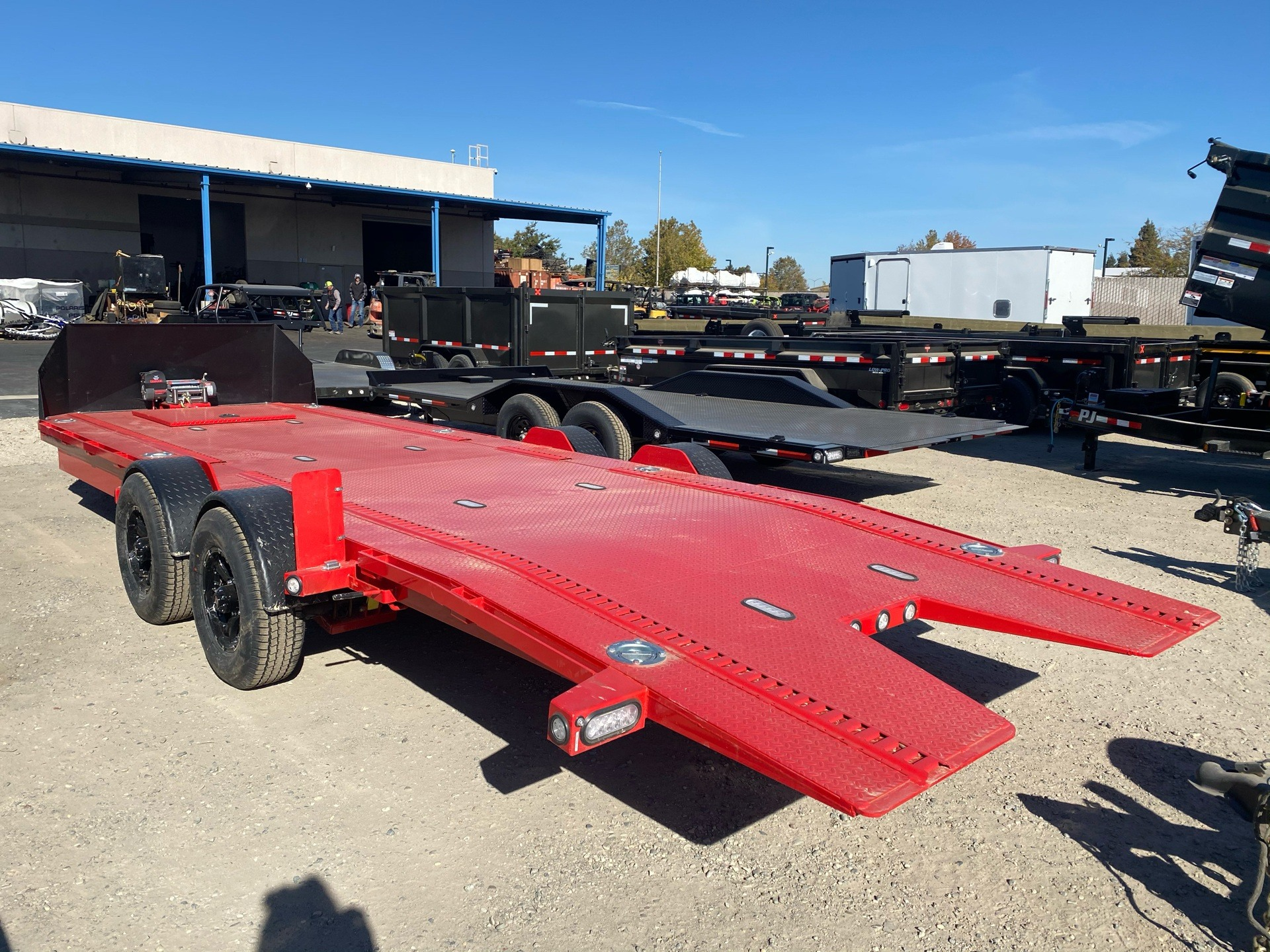 "2021 MAXXD TRAILERS 24' X 80"" DROP-N-LOAD in Elk Grove, California - Photo 17"