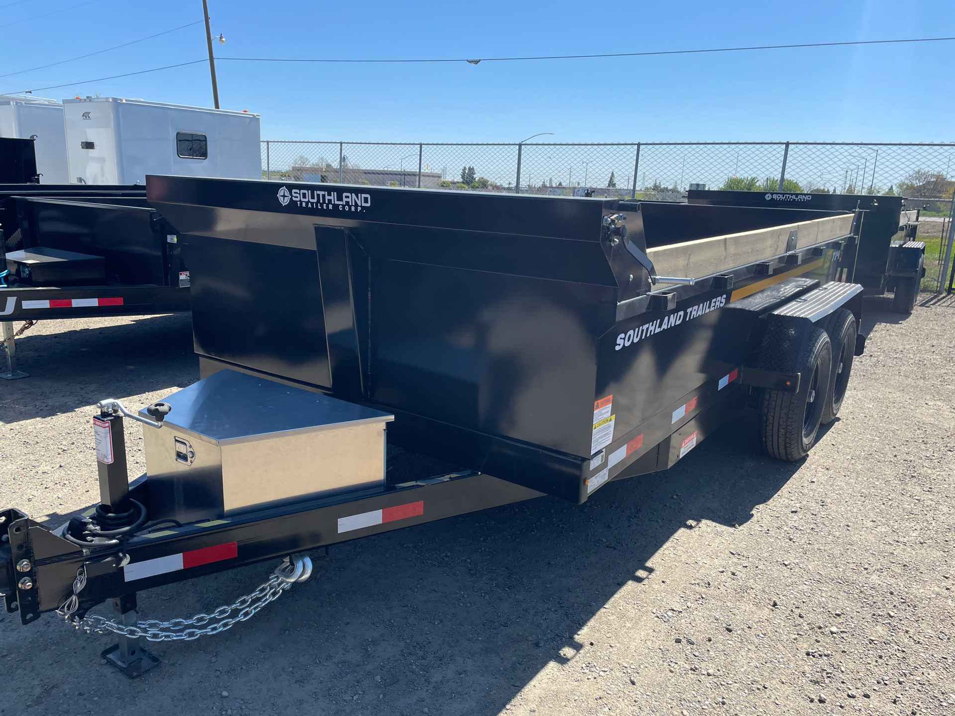 2021 SOUTHLAND TRAILER CORP SL714-14K DUMP in Elk Grove, California - Photo 1