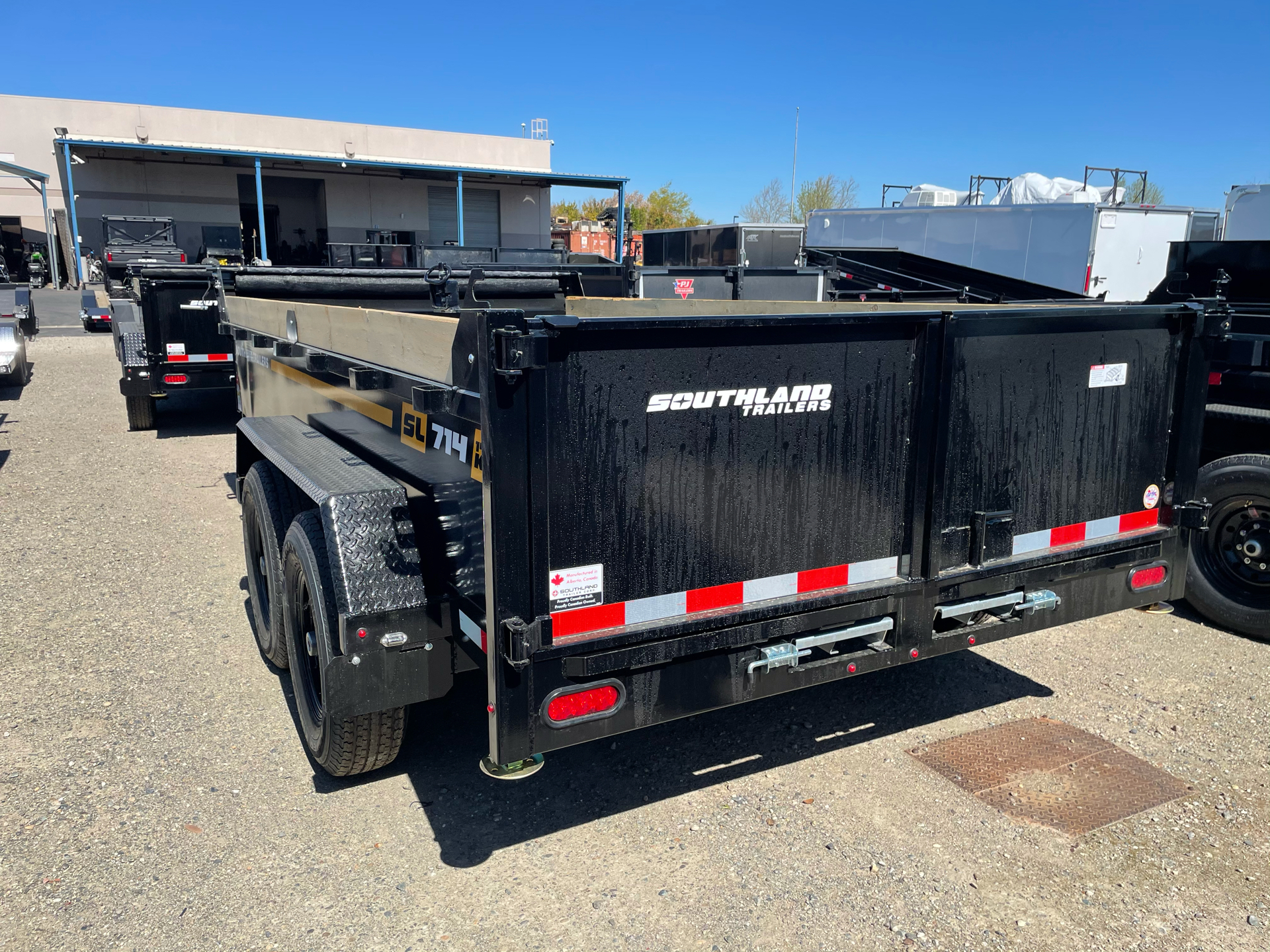 2021 SOUTHLAND TRAILER CORP SL714-14K DUMP in Elk Grove, California - Photo 2