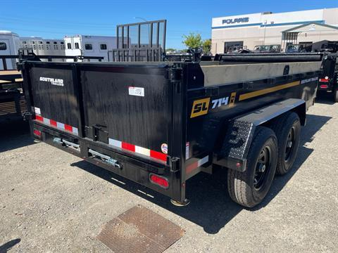 2021 SOUTHLAND TRAILER CORP SL714-14K DUMP in Elk Grove, California - Photo 3
