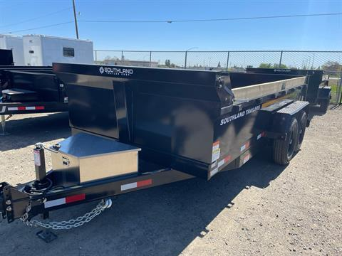 2021 SOUTHLAND TRAILER CORP SL714-14K DUMP in Elk Grove, California - Photo 5