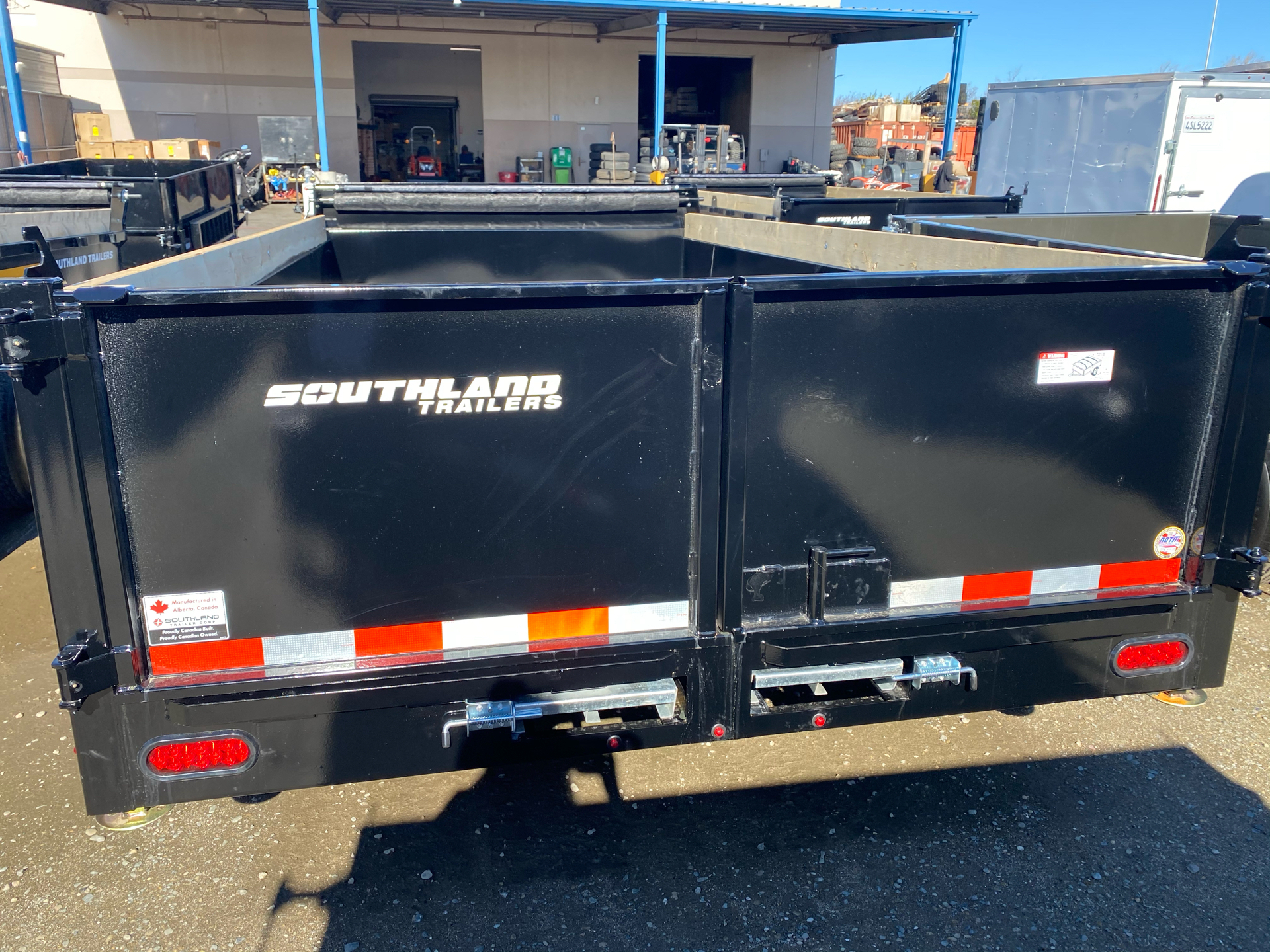 2021 SOUTHLAND TRAILER CORP SL714-14K DUMP in Elk Grove, California - Photo 9