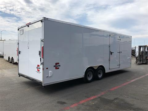 2020 Charmac Trailers 24' STEALTH CAR HAULER in Elk Grove, California