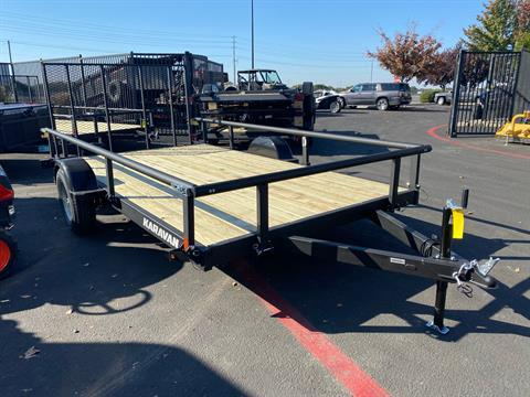 "2020 Karavan Trailers 13' X 82"" UTILITY TRAILER in Elk Grove, California - Photo 3"