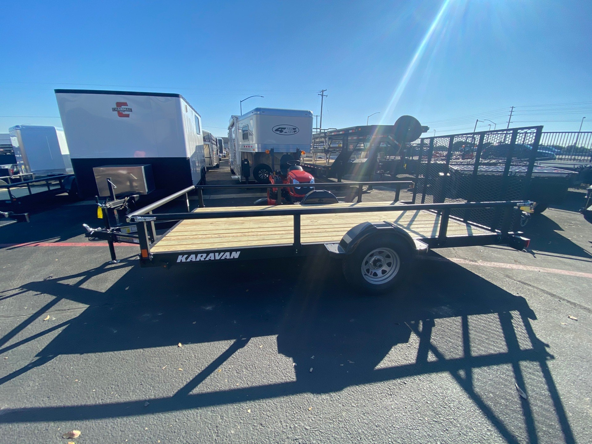 "2020 Karavan Trailers 13' X 82"" UTILITY TRAILER in Elk Grove, California - Photo 4"