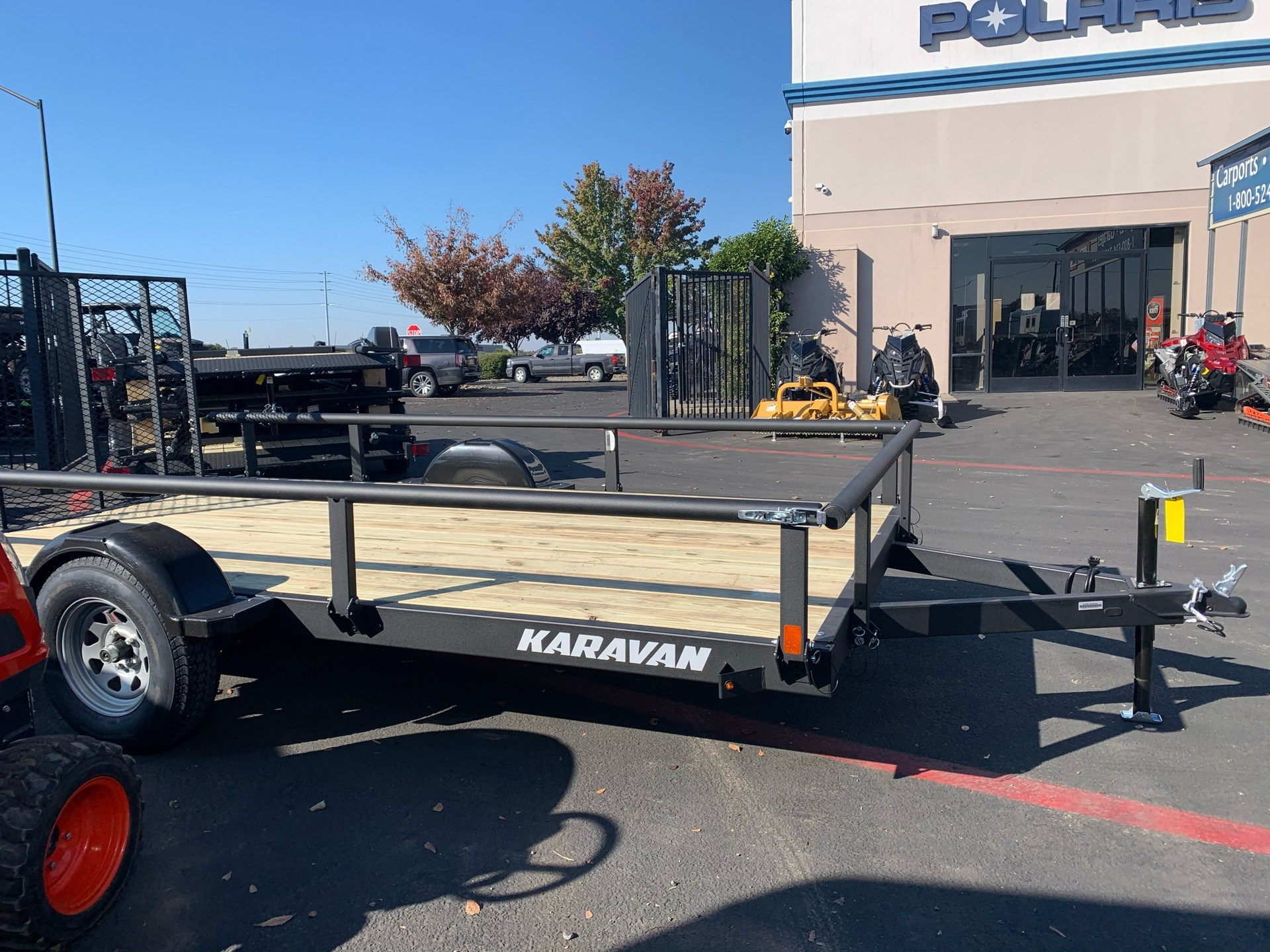 "2020 Karavan Trailers 13' X 82"" UTILITY TRAILER in Elk Grove, California - Photo 11"